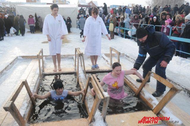 На Крещение на территории Омской области оборудуют 43 купели.