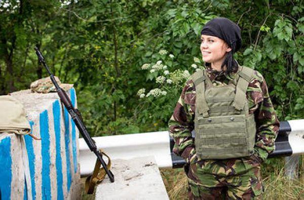 Маша – доброволец батальона «Донбасс»