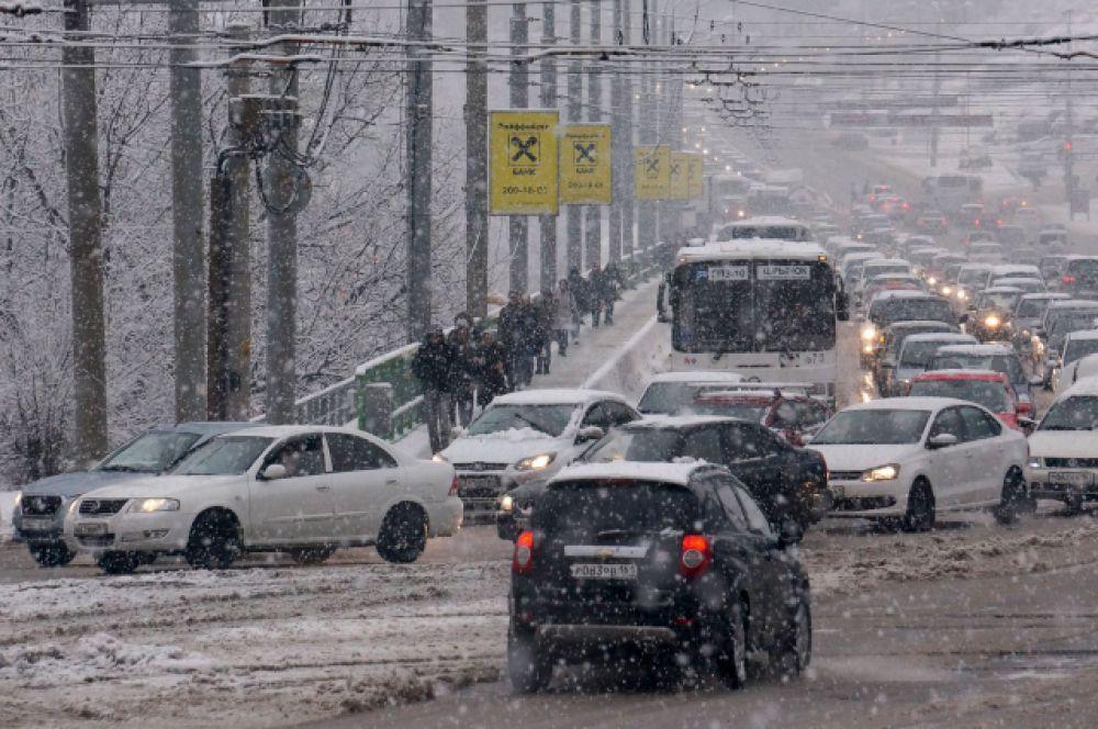 Но ситуация на ростовских дорогах оставляет желать лучшего.