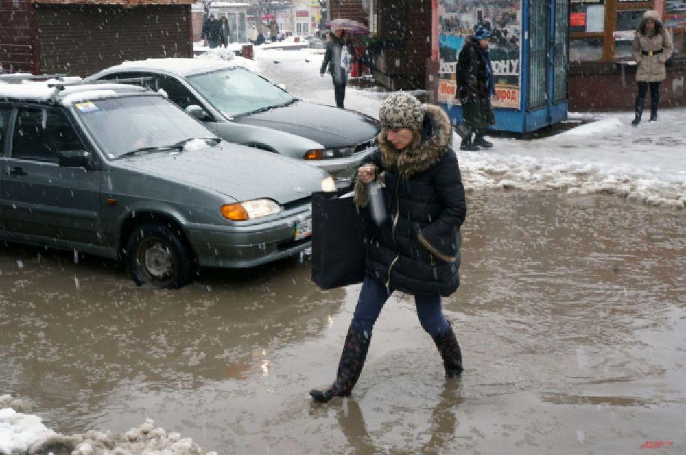 Но избежать зимнего потопа удаётся редко.