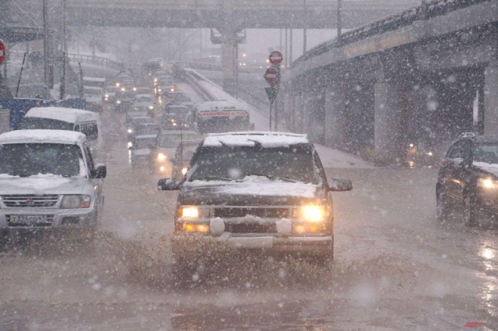 Ростов-на-Дону по большому счёту не готов к ухудшению погоды в любое время года.