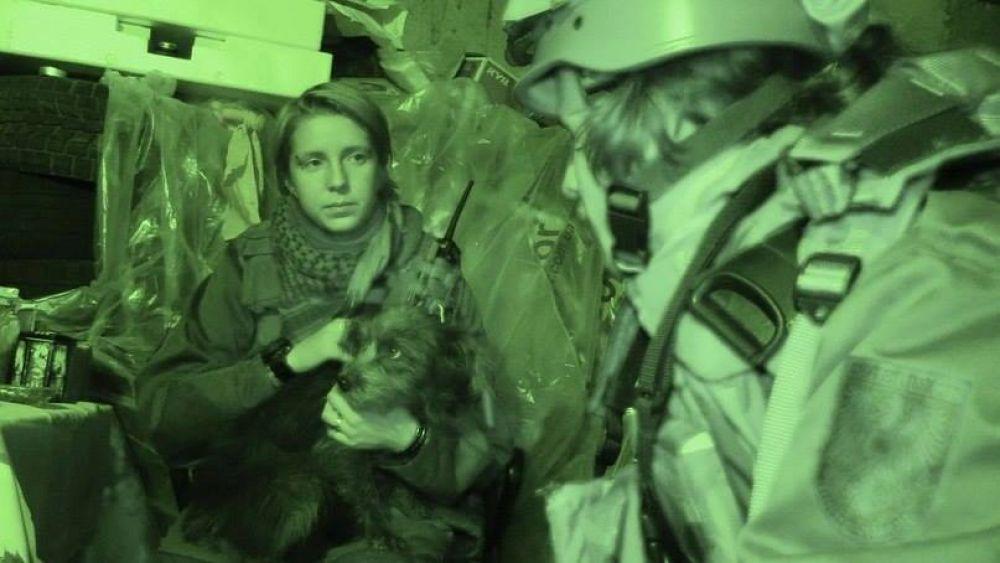 Яна Зинкевич - медик из батальона «Правый сектор»