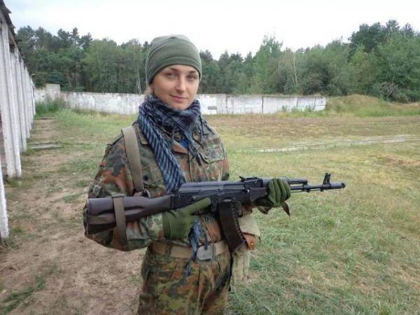 Алла Федорченко доброволец батальона «Січ»