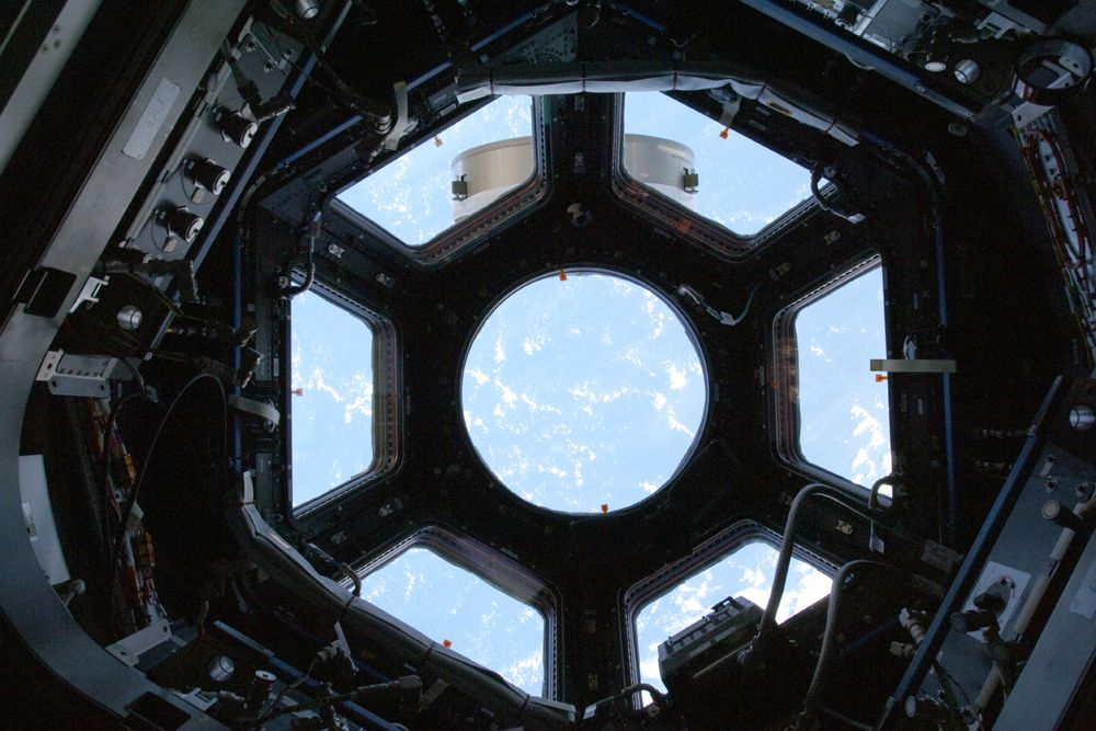 Вечера Сара сможет коротать у обзорного купола МКС.