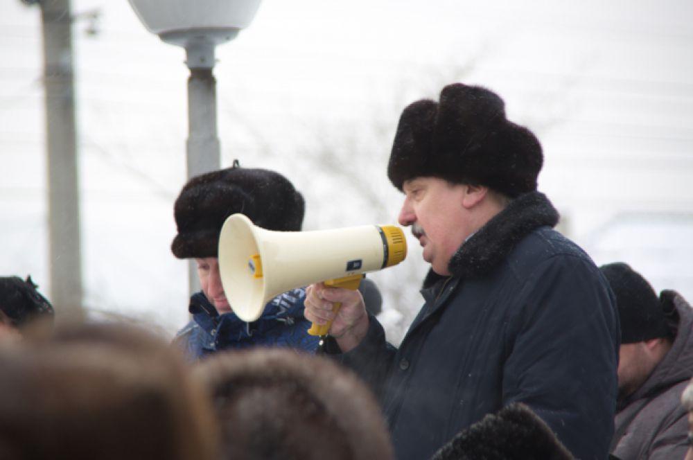 Выступление Николая Гаджалы, директора Забайкальской пригородной пассажирской компании.