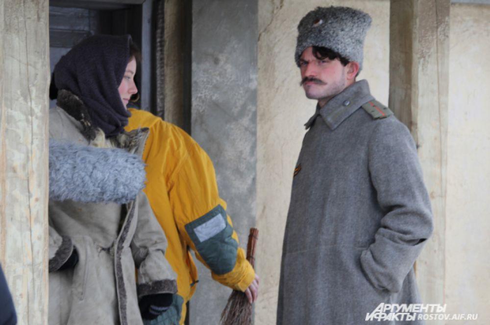 Главные герои Аксинья и Григорий.