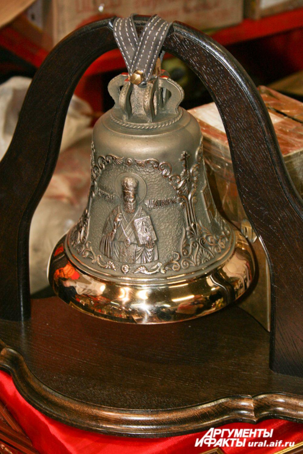 Колокола прибыли на уральскую землю из Киева.