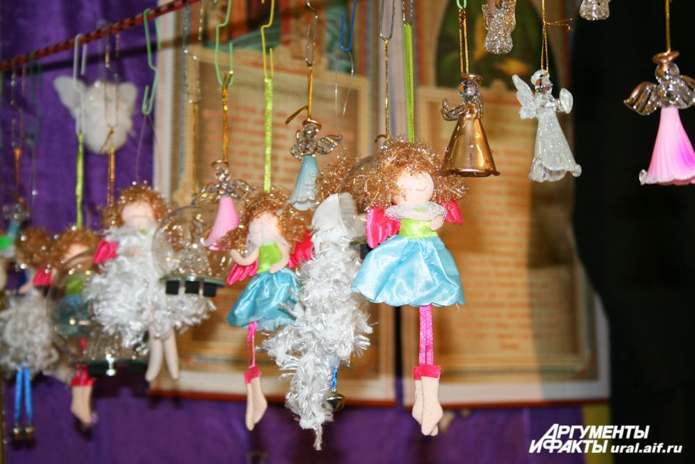 Ангелы – неизменный символ Рождества.