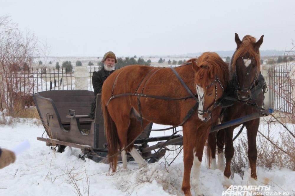 Актёрам кино управлять лошадьми нужно уметь самим и только самые сложные скаковые трюки исполняют за них дублёры.