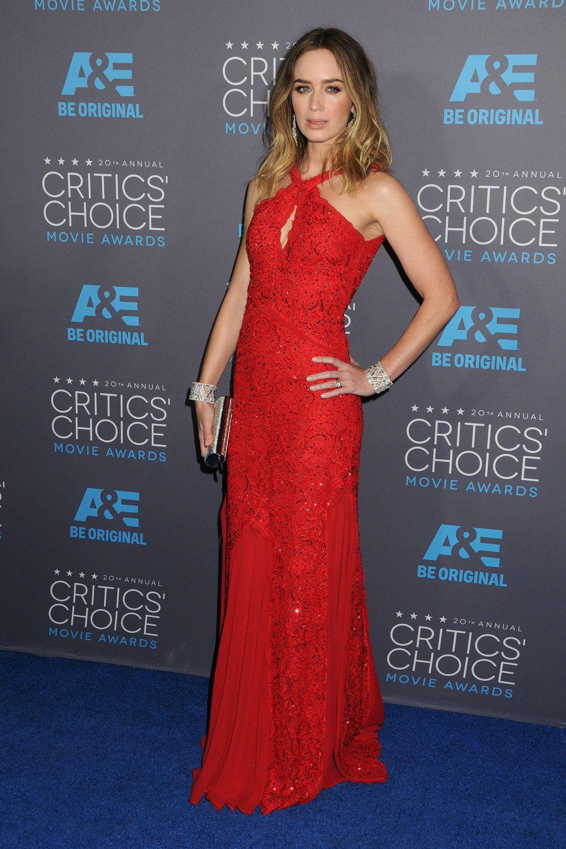 Британская актриса, обладательница премии «Золотой глобус» Эмили Блант