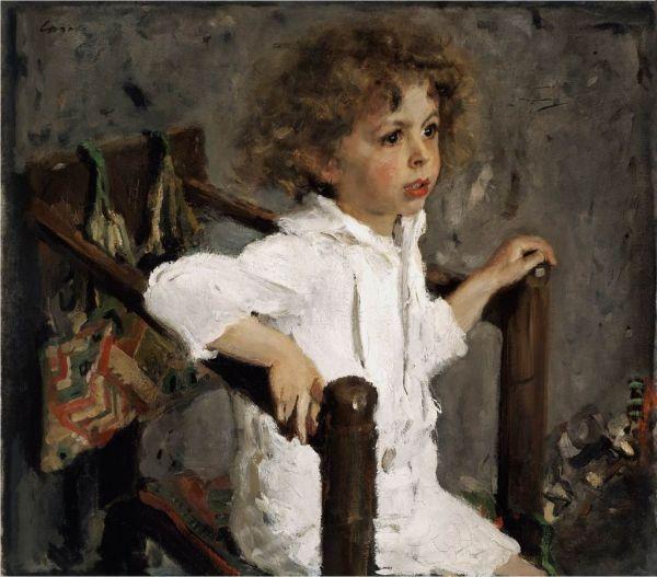 В 1901 году Серов создает одну из самых известных своих картин – «Потрет Мики Морозова», сына купца и предпринимателя Михаила Морозова.