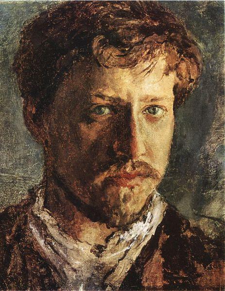 Валентин Серов родился 19 января 1865 года в Петербурге. Отцом будущего художника был композитор Александр Серов. Мальчику было шесть лет, когда отец его умер.  После этого около года мальчик с матерью жил в Мюнхене, где учился рисованию у гравера Карла Кеппинга, а затем в Париже, где  брал уроки живописи у Ильи Репина. С 1975 года жил и учился в Москве, а затем в Санкт-Петербурге. В 1882 году Серов был зачислен в Императорскую Академию художеств, где его наставником был Чистяков.