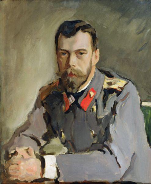 В 1900 году художник создал один из самых известных портретов Николая II. Работу император сам заказал художнику: это был подарок жене Александре Федоровне ко дню рождения.