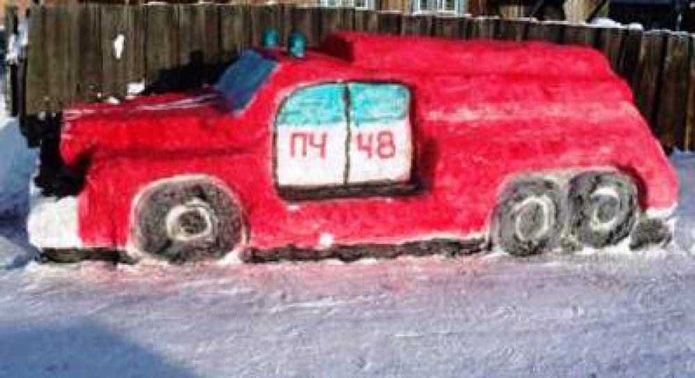 """""""Пожарный автомобиль"""" из Жигалово"""