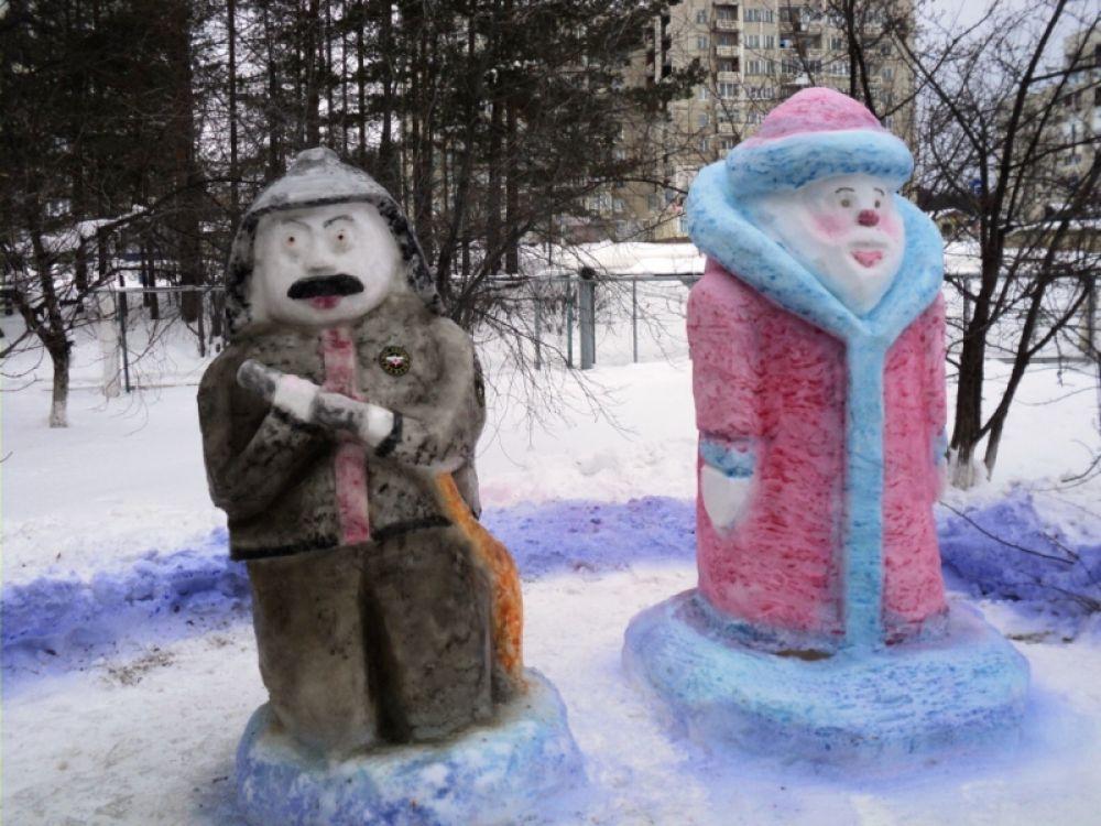 """""""Пожарный и Дед Мороз"""""""