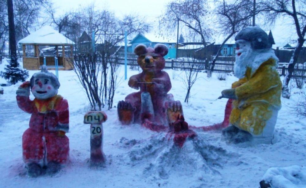 """""""Три снеговика"""" 6 ОФПС"""