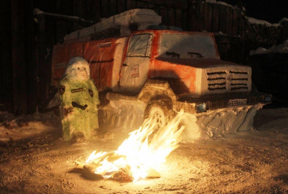 """""""Огнеборец"""" Испытательной пожарной лаборатории"""