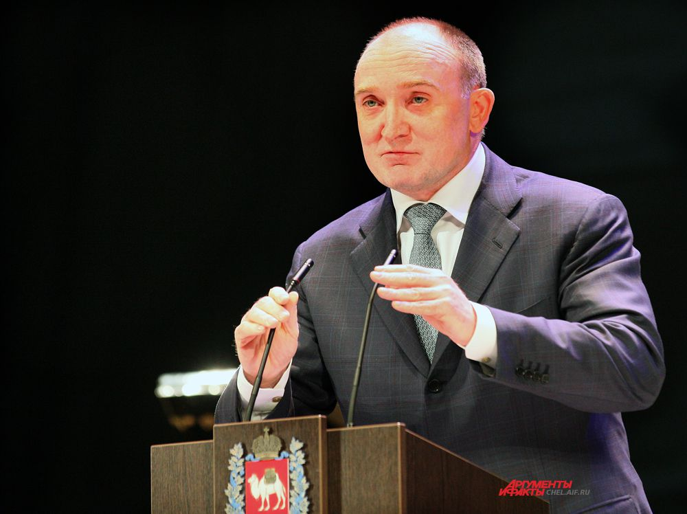 Губернатор области Борис Дубровский