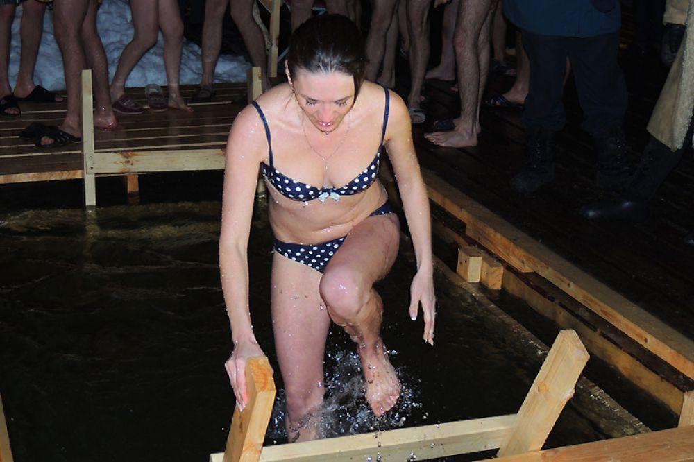 Конечно, это не теплое Черное море, но ощущения после купания прекрасные!