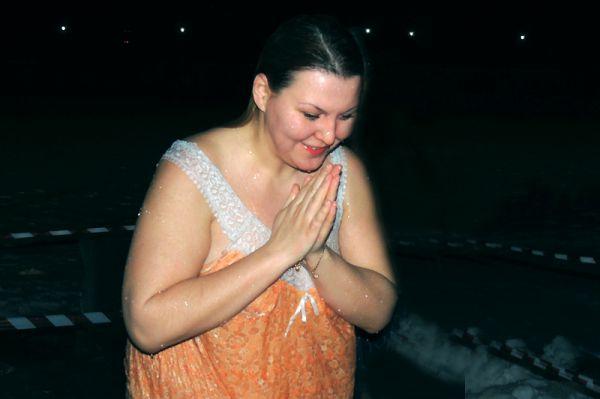 После купания в иордани многие ощущают состояние благодати.