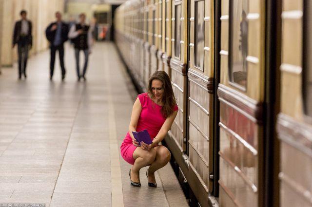 Селфи, метро