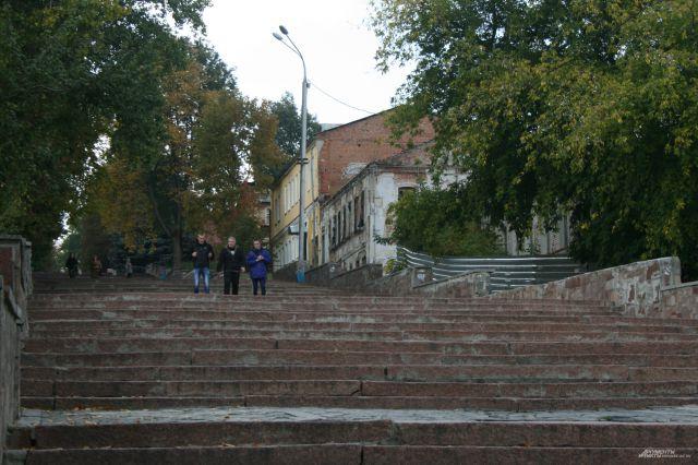 Вид на бульвар Гагарина с Набережной.