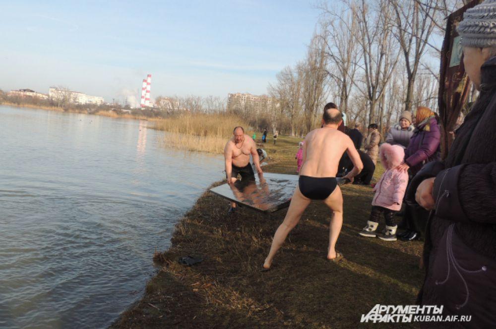 Верующим повезло: 19 января в Краснодаре плюсовая температура.