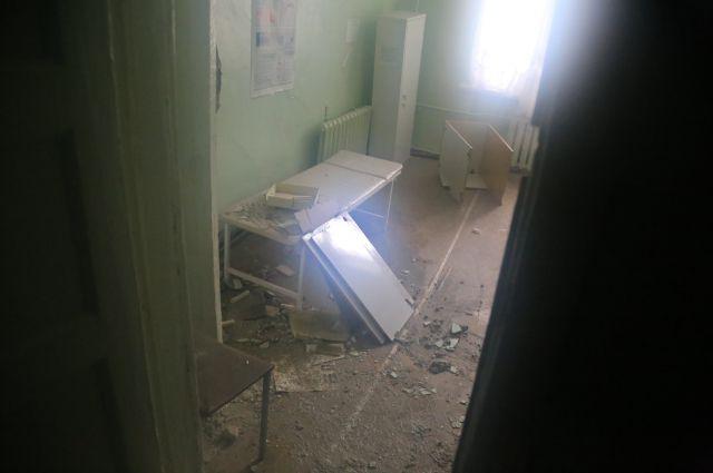 Больница в Кургане.