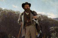 И. Н. Крамской. Портрет художника И. И. Шишкина.