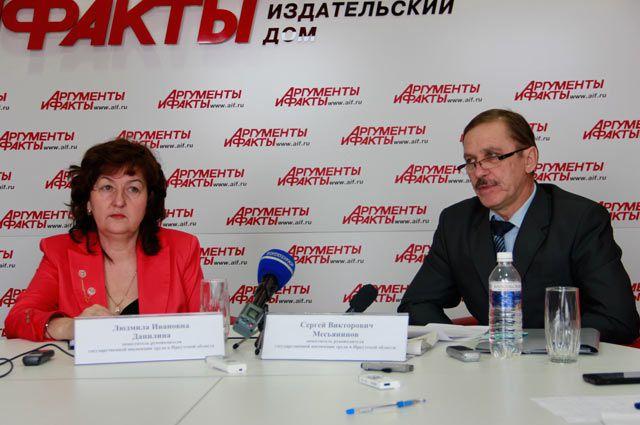 Людмила Данилина и Сергей Месьянинов