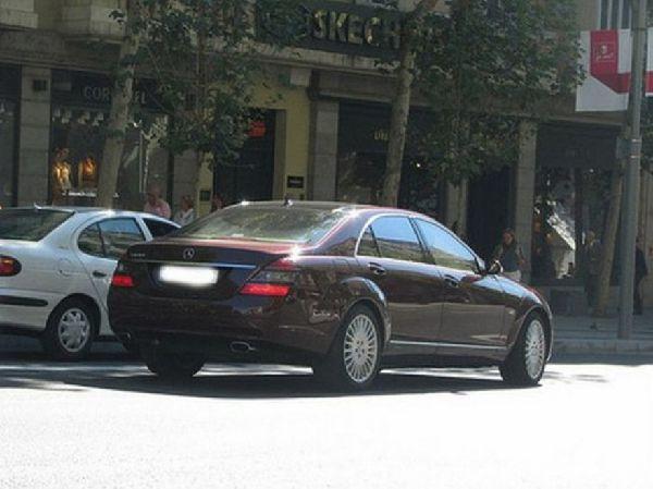 Mercedes 600 Сергея Левочкина