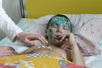 Ваня Воронов в больнице.