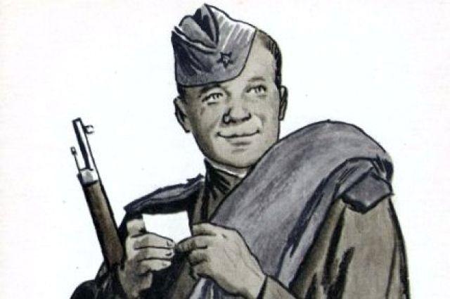 Василий Теркин - один из самых известных героев произведений Александра Твардовского.