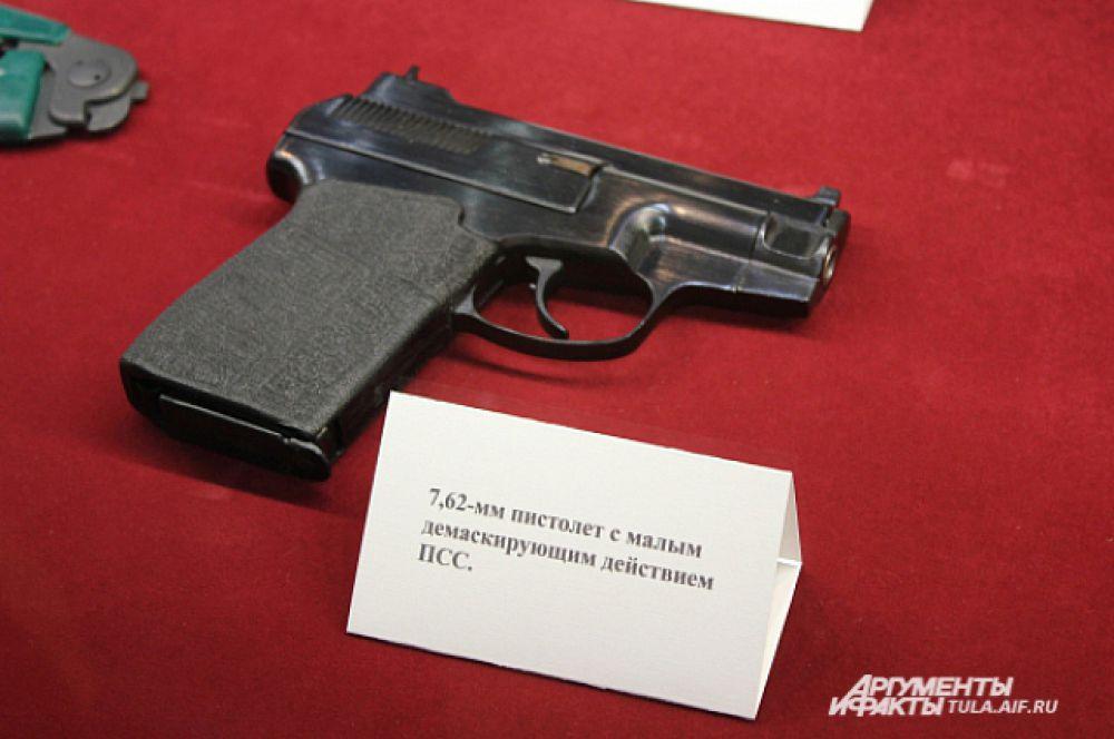 7, 62 мм, пистолет с малым демаскирующим действием ПСС