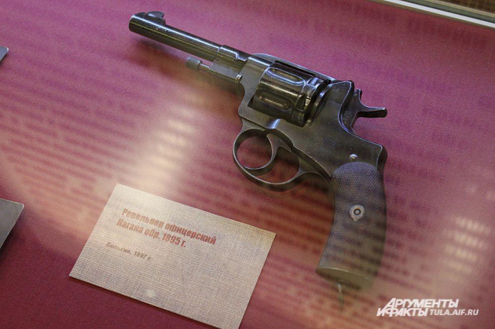 Револьвер Офицерский Нагана образца 1895 года