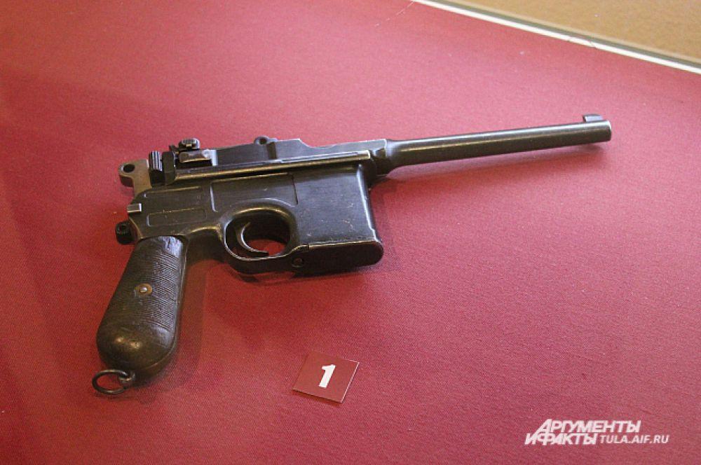 Пистолет Маузера К96, модель 1908 года