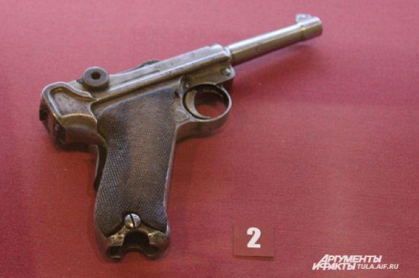 Пистолет «Парабеллум», модель 1902 года