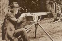 Конструктор за пулемётом образца 1918 г.