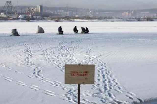 Запрет на подледную рыбалку