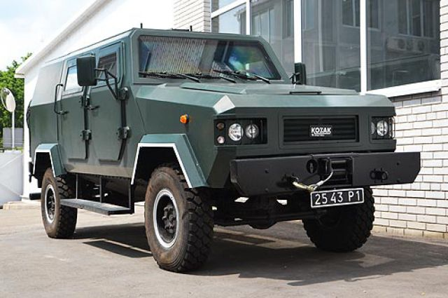 Бронеавтомобиль Kazak