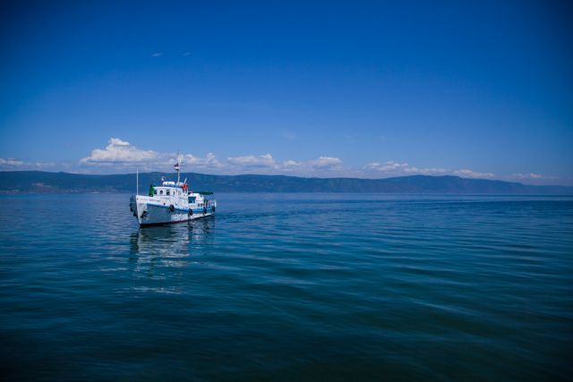 Уровень сибирского озера обеспокоил даже московских чиновников.