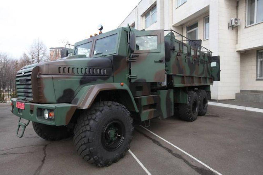 Бронеавтомобиль Raptor-АРС-КрАЗ