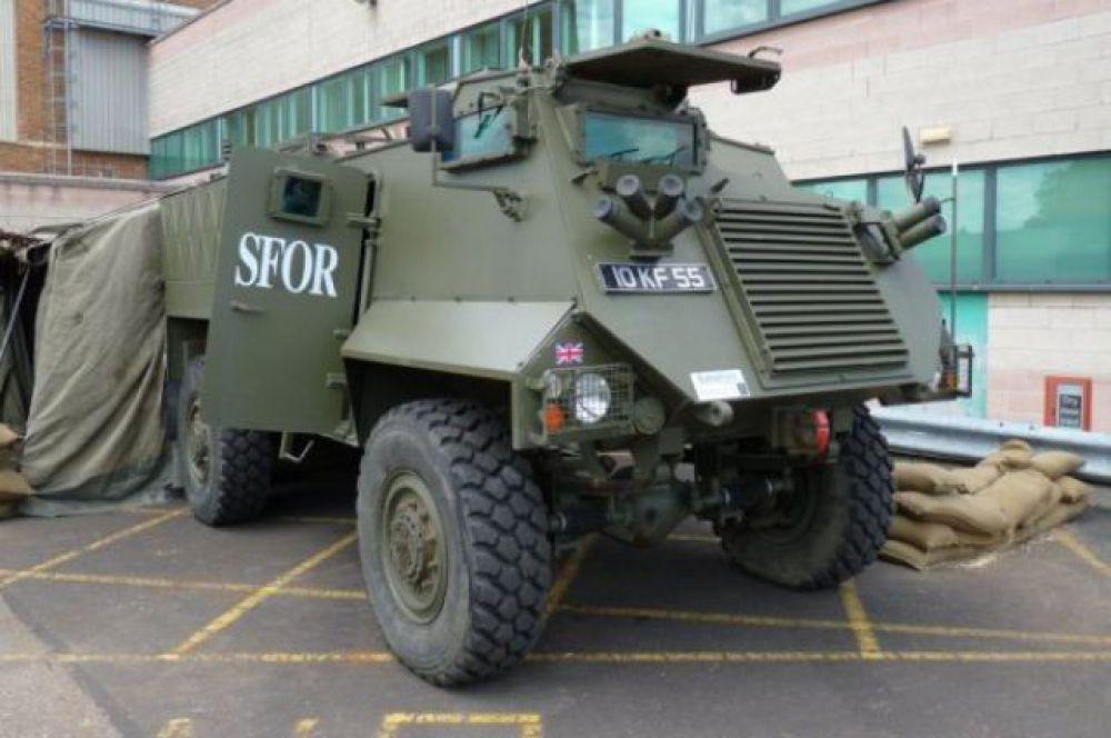 Британский бронеавтомобиль Saxon