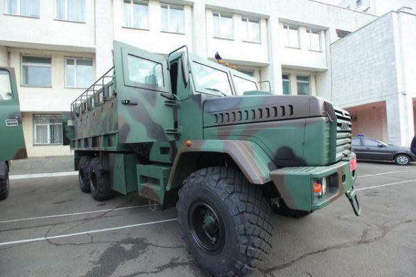 Бронеавтомобиль Raptor-АРС-КрАЗ1