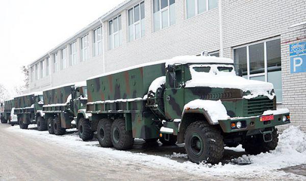 КрАЗ-6322 «Крепость на колесах»