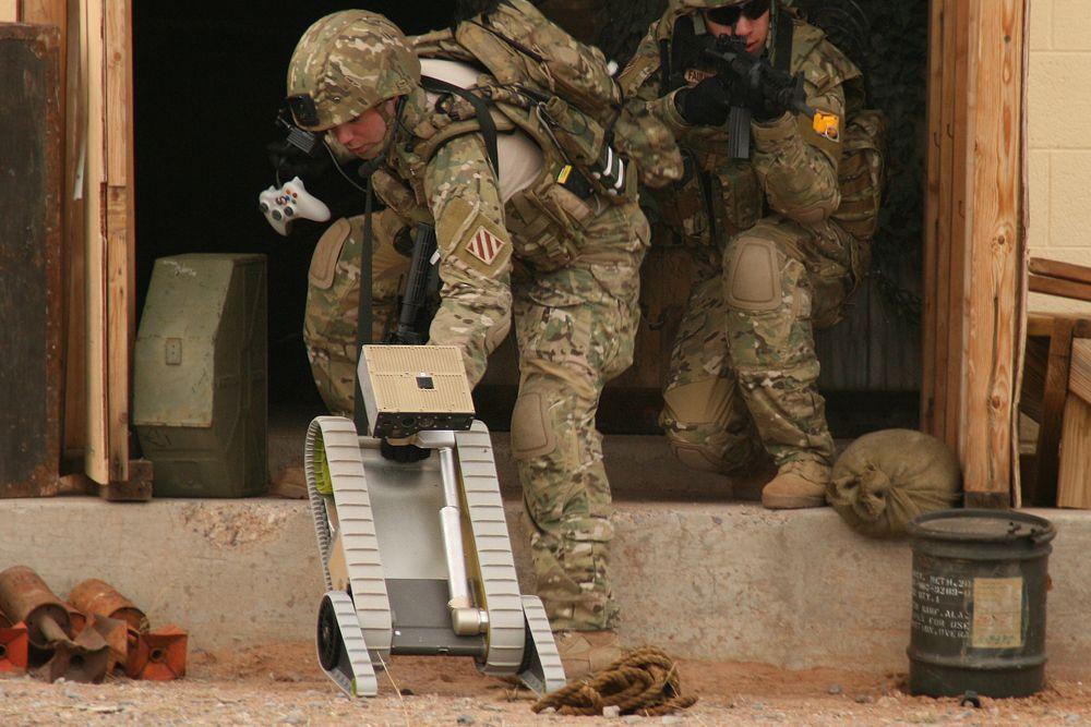 Warrior — робот военного назначения. Вес робота — около 110 кг, скорость перемещения порядка 19 км/ч. Warrior способен перемещаться по пересеченной местности, спускаться и подниматься по лестницам. Робот способен переносить 45 кг полезной нагрузки. Может быть использован при тушении пожаров, обезвреживании бомб, для перемещения раненых с поля боя.