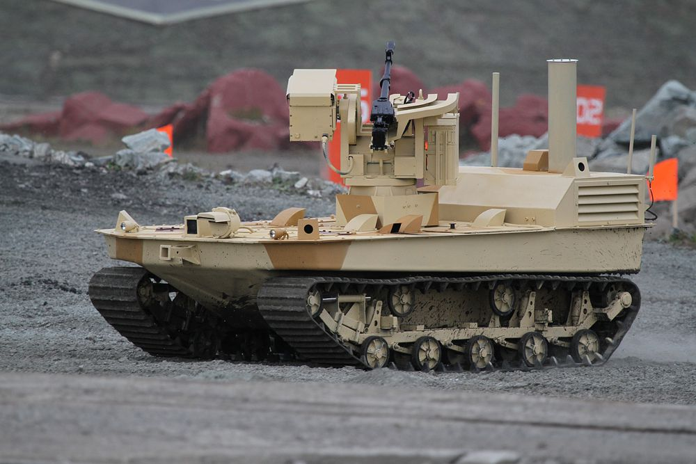 Мобильный Робототехнический Комплекс (МРК) — дистанционно управляемая безэкипажная боевая единица повышенной проходимости на гусеничном ходу, предназначенная для обнаружения и уничтожения стационарных и подвижных целей, огневой поддержки и войсковой разведки, маневровых задач.