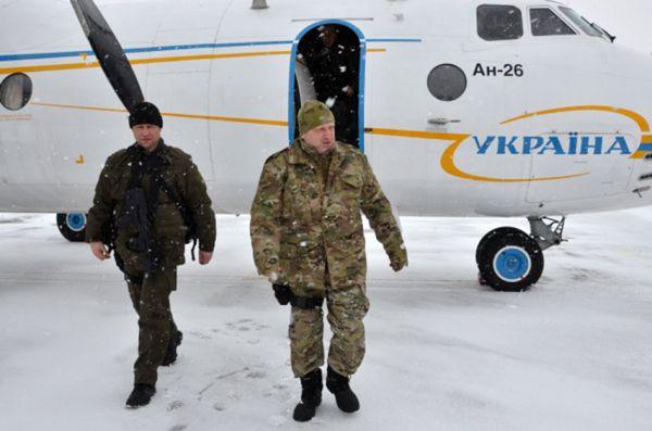 Александр Турчинов отправился в зону АТО