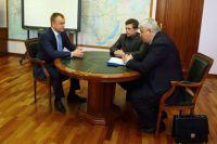 Рабочая встреча представителей власти.