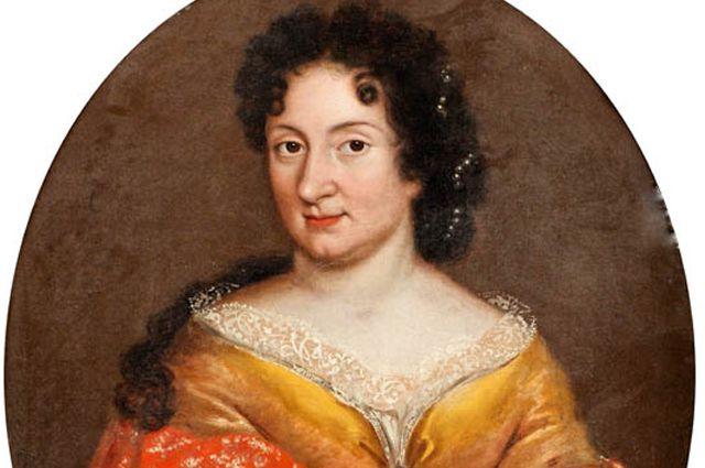 Предполагаемый портрет Анны Монс, 1700-е годы.